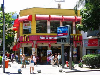 McDonald's in Leblon, Rio De Janeiro, Brazil